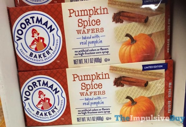 Voortman Limited Edition Pumpkin Spice Wafers  2017