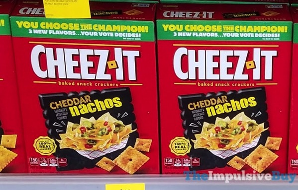 You Choose the Champion Cheddar Nachos Cheez It