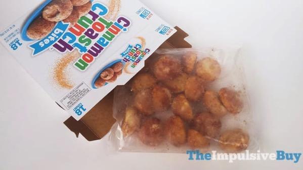 2 Cinnamon Toast Crunch Bites