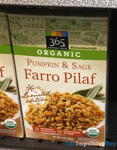 365 Everyday Value Organic Limited Edition Pumpkin  Sage Farro Pilaf