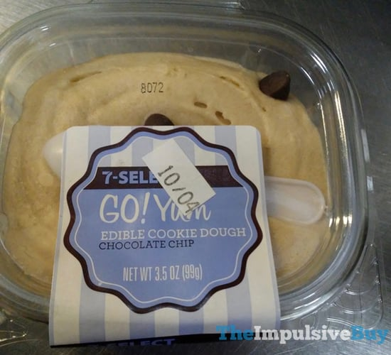 7 Select Go Yum Chocolate Chip Edible Cookie Dough