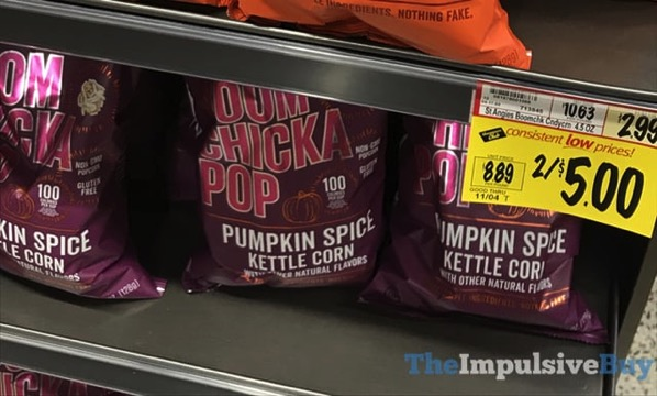 Angie s Boom Chicka Pop Pumpkin Spice Kettle Corn  2017