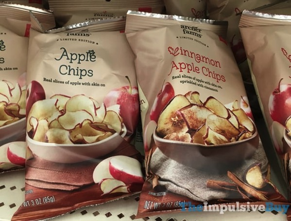 Archer Farms Limited Edition Apple Chips and Cinnamon Apple Chips
