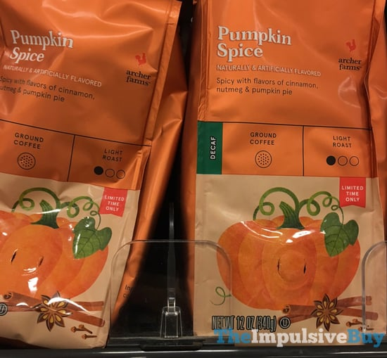 Archer Farms Pumpkin Spice Ground Coffee  2017