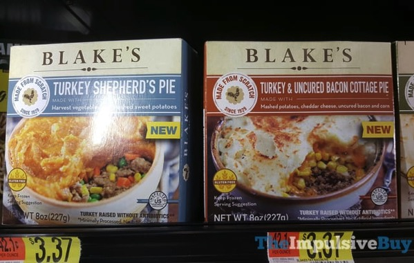 Blake s Turkey Shepherd s Pie and Turkey  Uncured Bacon Cottage Pie