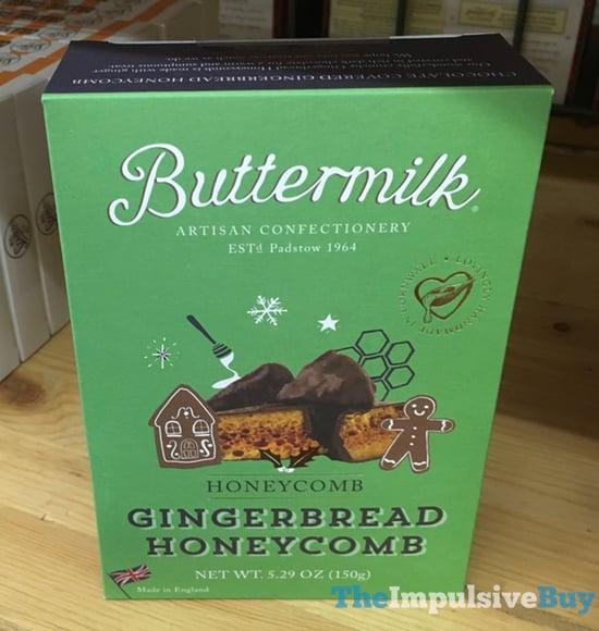 Buttermilk Gingerbread Honeycomb