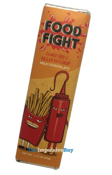 FYE Food Fight Funky Fry  Killer Ketchup Milk Chocolate Bar