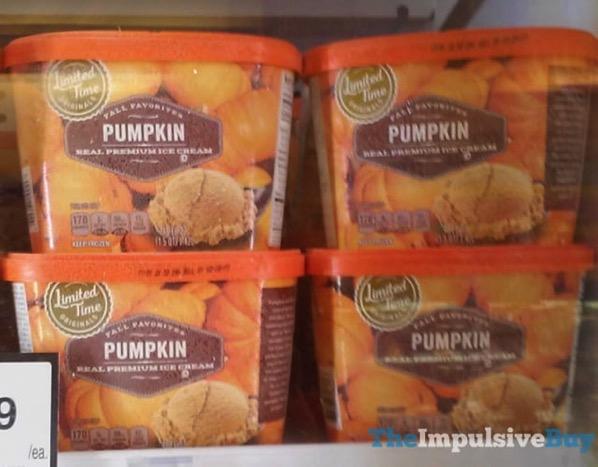 Giant Limited Time Originals Fall Favorites Pumpkin Real Premium Ice Cream