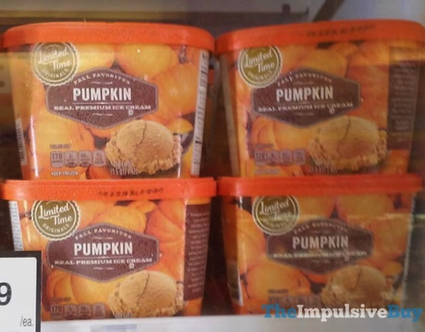 Giant Limited Time Originals Fall Favorites Pumpkin Real Premium Ice Cream