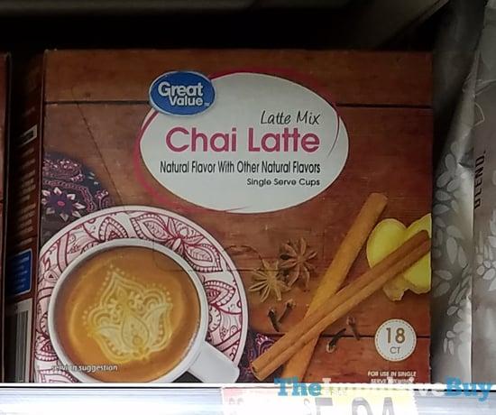 Great Value Chai Latte Latte Mix