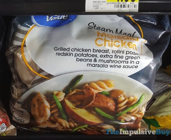 Great Value Marsala Chicken Steam Meal