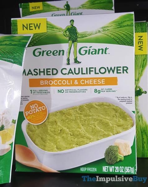 Green Giant Broccoli  Cheese Mashed Cauliflower