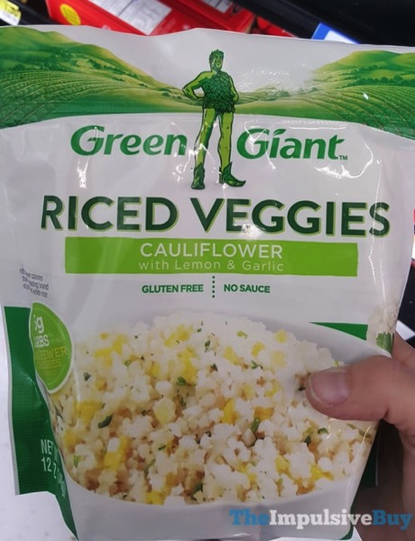 Green Giant Cauliflower with Lemon  Garlic Riced Veggies