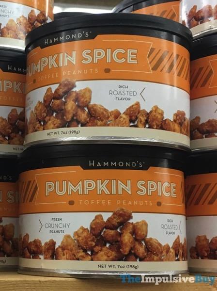 Hammond s Pumpkin Spice Toffee Peanuts
