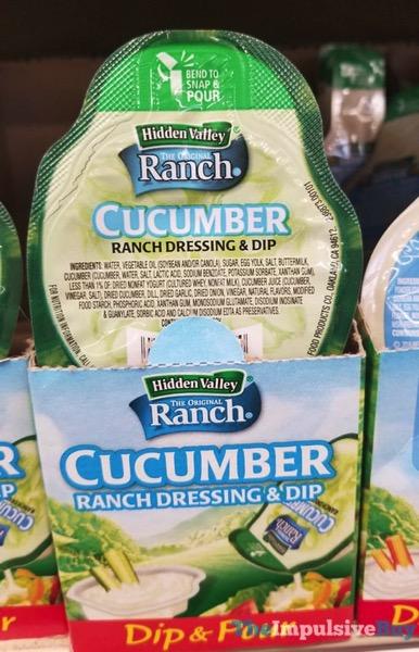 Hidden Valley Dip  Pour Cucumber Ranch