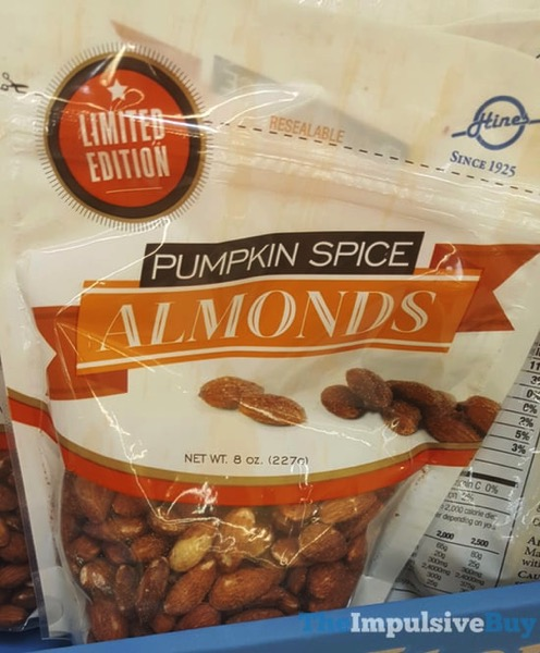 Hines Limited Edition Pumpkin Spice Almond