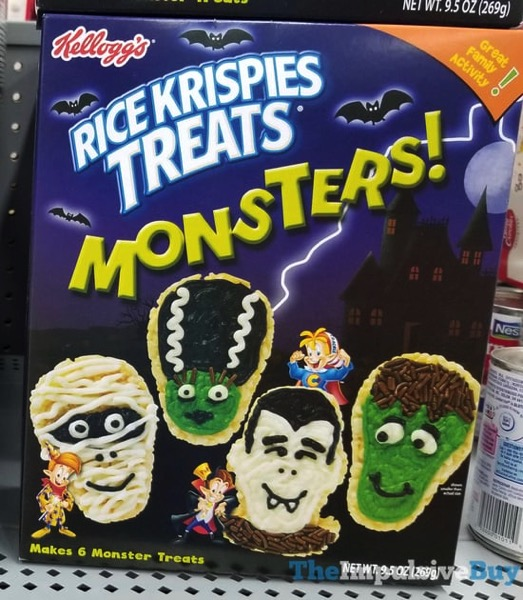 Kellogg s Rice Krispies Treats Monsters