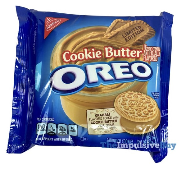 Limited Edition Cookie Butter Oreo Cookies