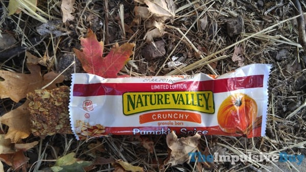 Limited Edition Nature Valley Pumpkin Spice Crunchy Granola Bars 3