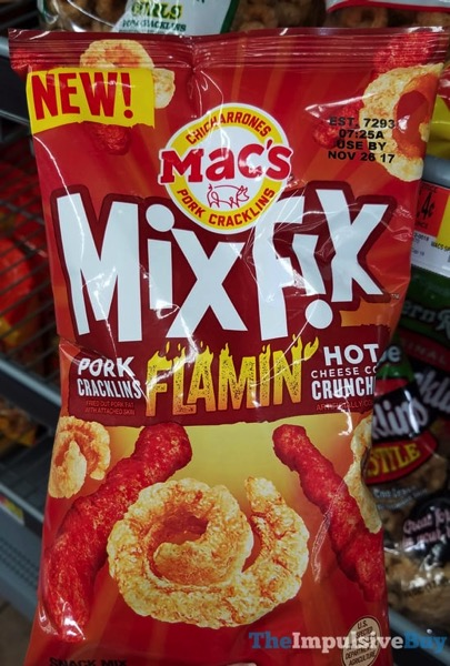 Mac s Mix Fix Flamin Hot Pork Cracklins