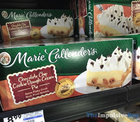 Marie Callender s Chocolate Chip Cookie Dough Cream Pie