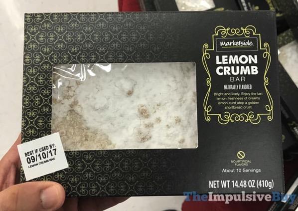 Marketside Lemon Crumb Bar