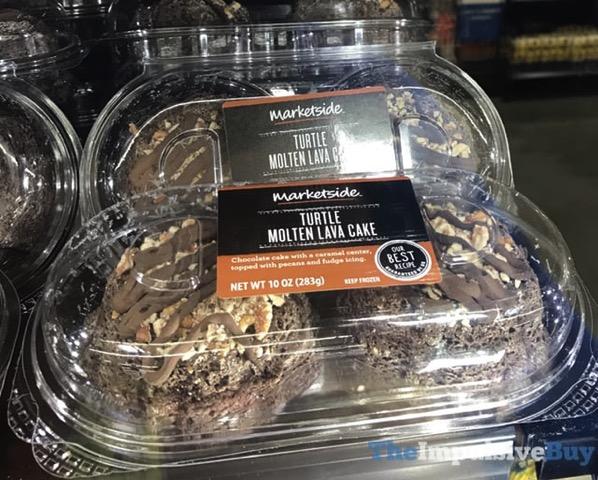 Marketside Turtle Molten Lava Cake