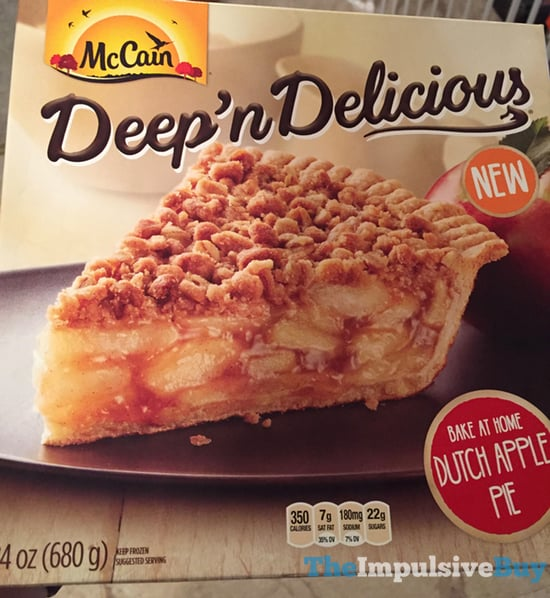 McCain Deep  n Delicious Dutch Apple Pie