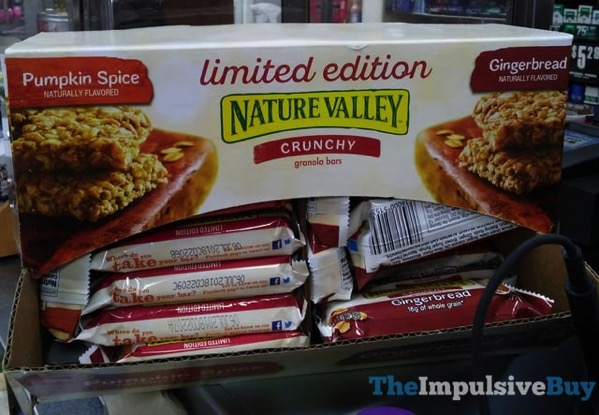 Nature Valley Limited Edition Gingerbread Crunchy Granola Bars
