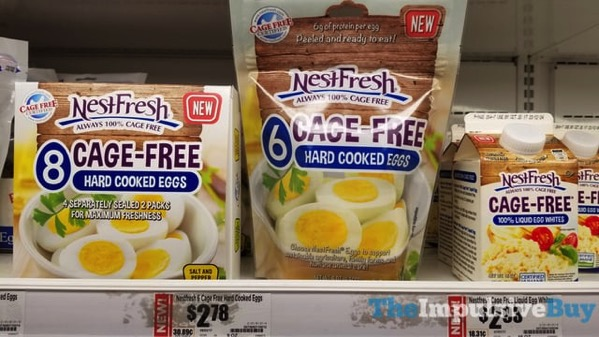NestFresh Cage Free Hard Cooked Eggs and Liquid Egg Whites