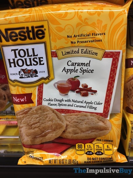 Nestle Toll House Limited Edition Caramel Apple Spice Cookie Dough