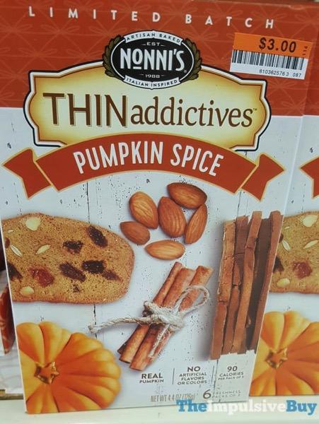 Nonni s Limited Batch Pumpkin Spice THINaddictives  2017