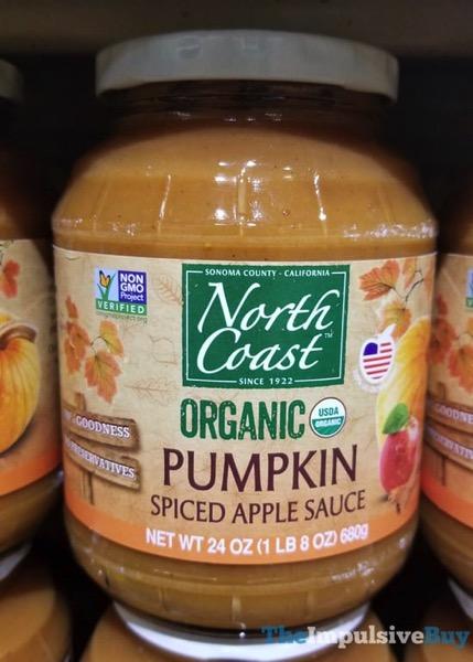 North Coast Organic Pumpkin Spiced Apple Sauce
