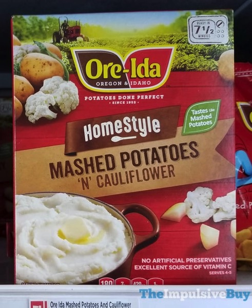 Ore Ida Homestyle Mashed Potatoes  N Cauliflower