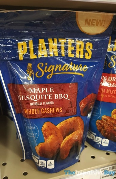 Planters Signature Maple Mesquite BBQ Whole Cashews
