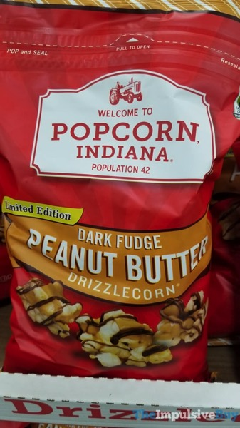 Popcorn Indiana Limited Edtiion Dark Fudge Peanut Butter Drizzlecorn