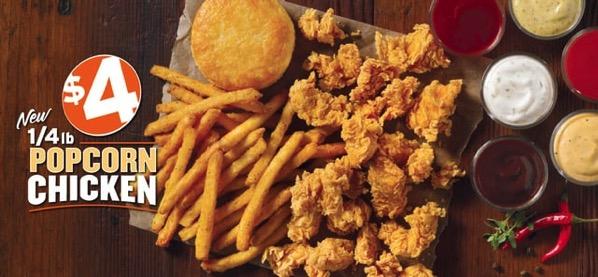 Popeyes Popcorn Chicken