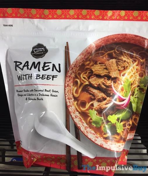 Sam s Choice Ramen with Beef