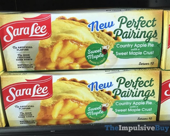 Sara Lee Perfect Pairings Country Apple Pie with a Sweet Maple Crust