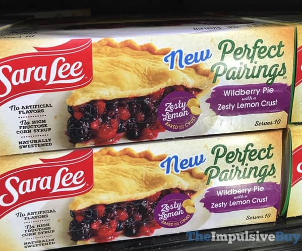 Sara Lee Perfect Pairings Wildberry Pie with a Zesty Lemon Crust