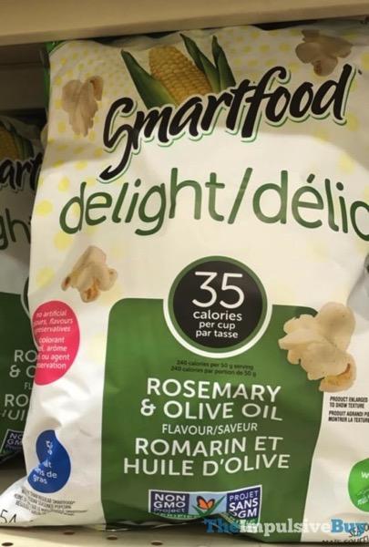 Smartfood Delight Rosemary  Olive Oil Popcorn  Canada