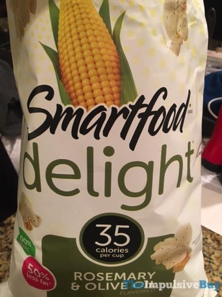 Smartfood Delight Rosemary  Olive Oil Popcorn