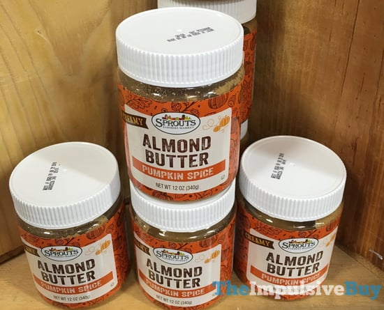 Sprouts Pumpkin Spice Almond Butter