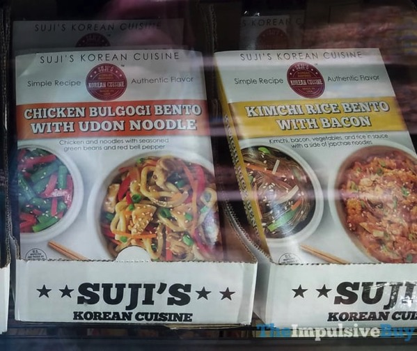 Suji s Korean Cuisine Chicken Bulgogi Bento with Udon Noodles and Kimchi Rice Bento with Bacon
