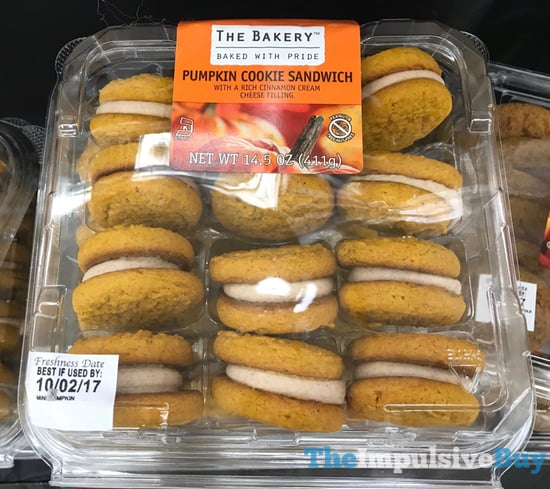 The Bakery Pumpkin Cookie Sandwich
