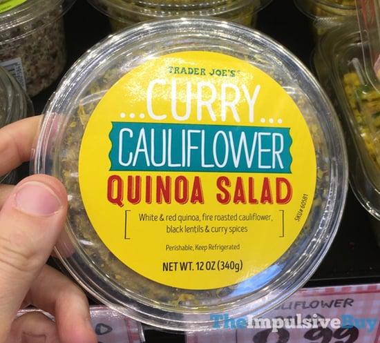 Trader Joe s Curry Cauliflower Quinoa Salad