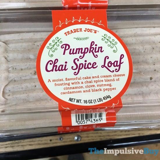 Trader Joe s Pumpkin Chai Spice Loaf  2017