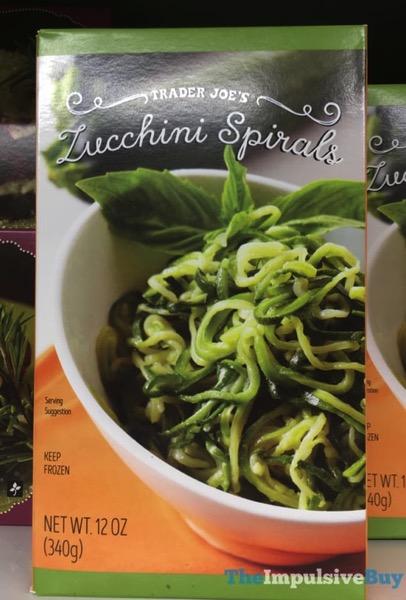 Trader Joe s Zucchini Spirals