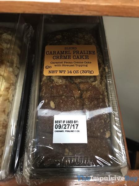Unknown Brand Sliced Caramel Praline Creme Cake