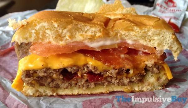 Wendy s Giant Jr Bacon Cheeseburger 3